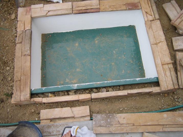 水のガーデン☆簡単!お池の作り方_a0142778_17303830.jpg