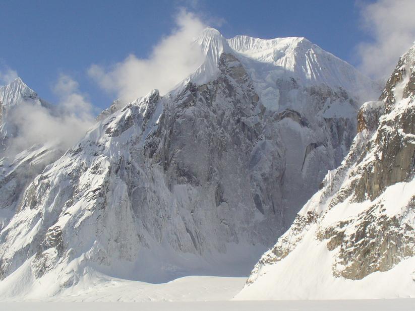 ルース氷河の山々_c0206900_2346111.jpg