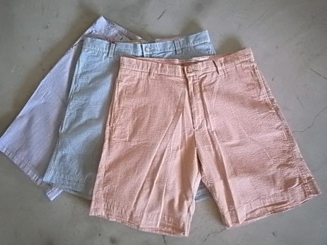 BERLE Seersucker Shorts_d0101000_155122100.jpg