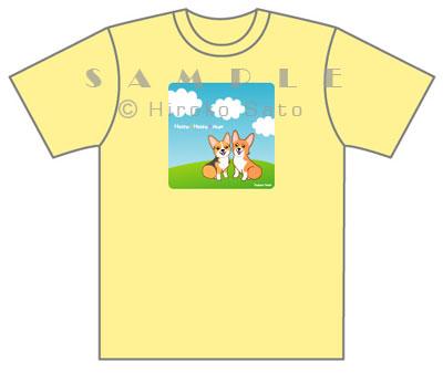 ももちゃん&あんずちゃんTシャツ_d0102523_16455838.jpg