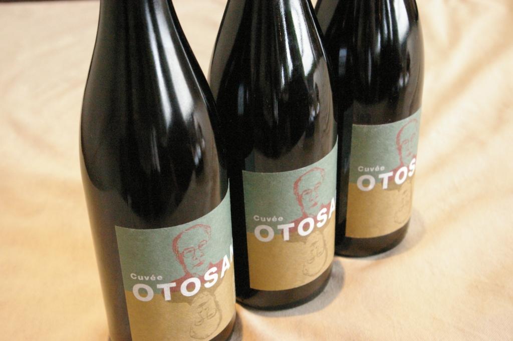 父の日のプレゼントワイン♪「OTOSAN」_b0077531_23592853.jpg