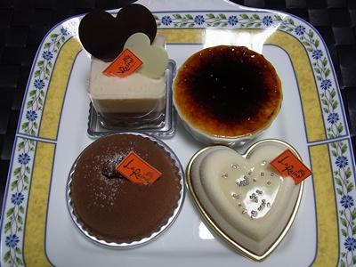 「ラ レーヌ」のケーキ1