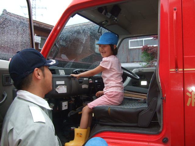 消防署の方に、避難訓練を見てもらいました。_d0166047_22165063.jpg