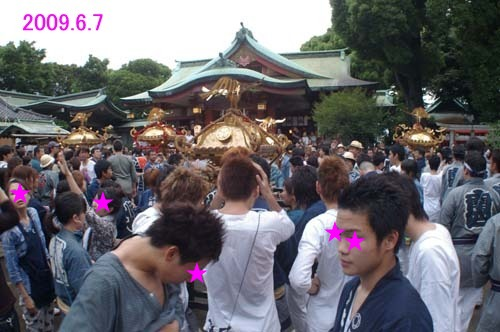 毎年恒例 品川神社で見たこと_f0211178_2048599.jpg