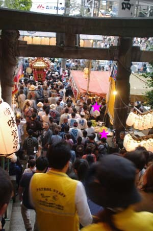 毎年恒例 品川神社で見たこと_f0211178_21281932.jpg
