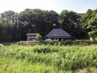 「小倉町の家」の書庫が上棟しました。その1_c0195909_1215467.jpg