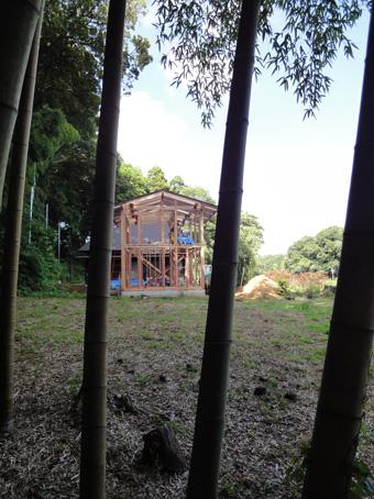「小倉町の家」の書庫が上棟しました。その2_c0195909_1927546.jpg