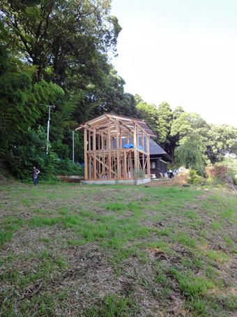 「小倉町の家」の書庫が上棟しました。その2_c0195909_1928292.jpg