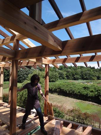 「小倉町の家」が上棟しました。その3_c0195909_19534498.jpg