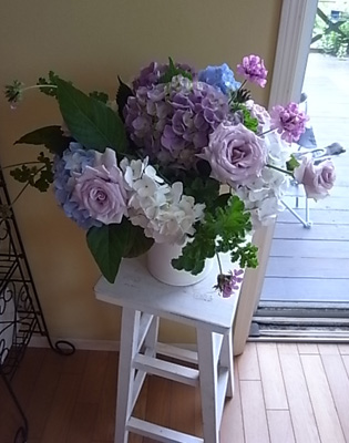 薔薇の一日教室@北鎌倉 【おまけ】侘助_b0051666_17181981.jpg