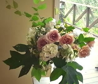 薔薇の一日教室@北鎌倉 【おまけ】侘助_b0051666_17185484.jpg