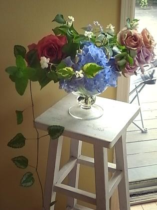 薔薇の一日教室@北鎌倉 【おまけ】侘助_b0051666_17194140.jpg