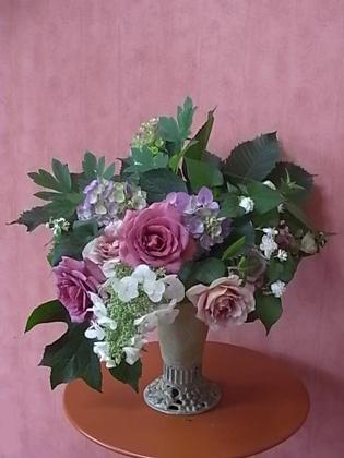 薔薇の一日教室@北鎌倉 【おまけ】侘助_b0051666_18593855.jpg