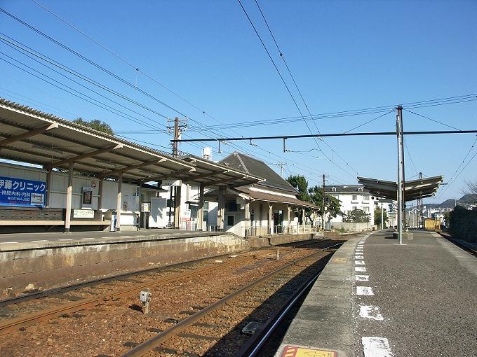 琴電 屋島駅/元山駅_f0116479_23501459.jpg