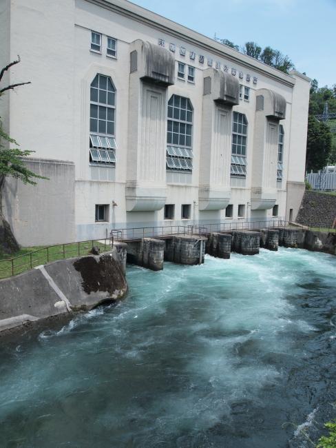 東京電力 猪苗代第4発電所  喜多方市塩川町金橋_e0143883_21244461.jpg