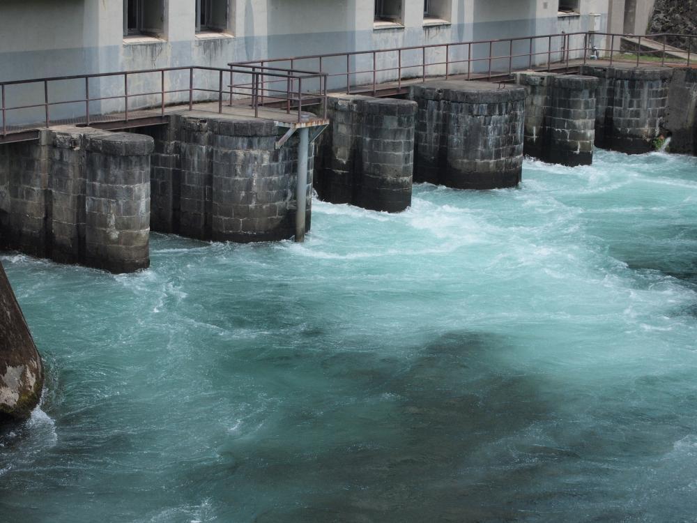 東京電力 猪苗代第4発電所  喜多方市塩川町金橋_e0143883_2124670.jpg
