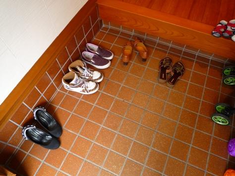 下駄箱の収納 娘達の靴 何とかするぞ~(^0^)/_e0123286_19374534.jpg
