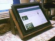 書見台の復活と iPad への尾崎辞書のインストール_a0051297_222192.jpg