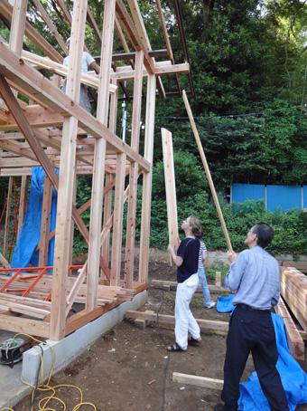 「小倉町の家」が上棟しました。その5_c0195909_837393.jpg