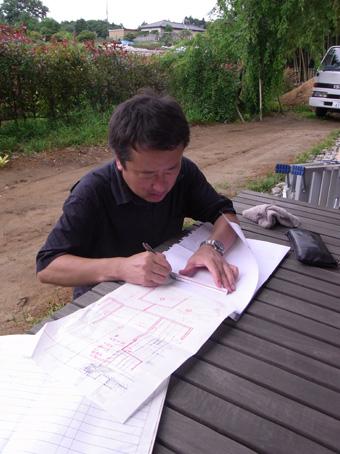 「小倉町の家」が上棟しました。その6_c0195909_9124264.jpg