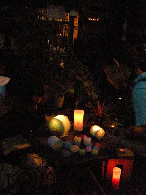 出茶屋+Petal の candle night!_d0157716_21513187.jpg