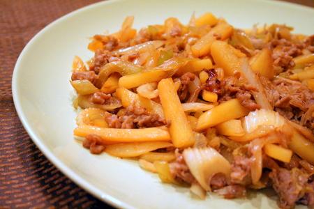 豚肉とジャガイモのすっぱ炒め_f0141419_6393816.jpg