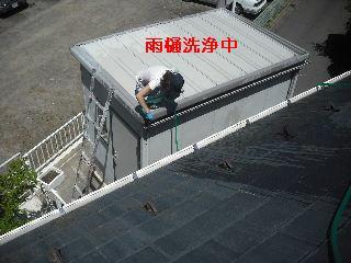 雨樋清掃_f0031037_2019279.jpg