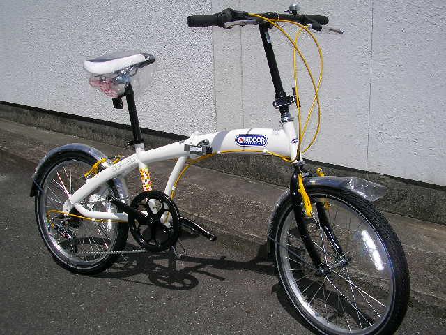 OUTDOORの折り畳み自転車_b0189682_1083112.jpg