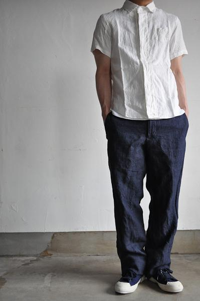 LOLO/ロロ Linen Short Sleeves Shirt