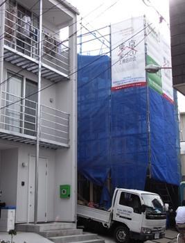 「雑司ヶ谷の家」上棟_c0019551_87426.jpg