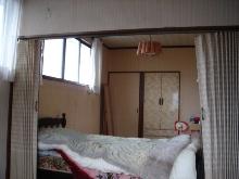 古い洋間二部屋をナチュラルなワンルームに_a0169296_8522599.jpg