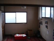 古い洋間二部屋をナチュラルなワンルームに_a0169296_8554595.jpg