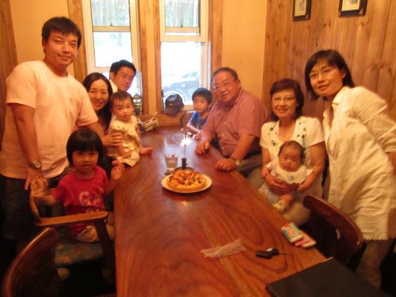 退職祝 【Chef\'s Report】_f0111415_18431510.jpg