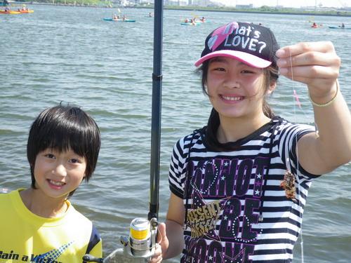 上壱分小学校釣り教室_f0175450_16594657.jpg