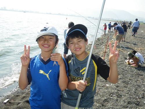 上壱分小学校釣り教室_f0175450_1723142.jpg