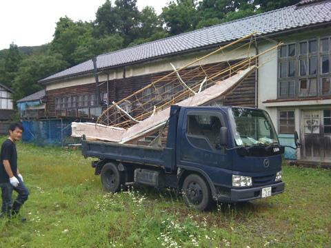 古川歩 搬入 夏バケ!_b0151262_22404953.jpg