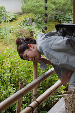 京都妙心寺で精進料理を_a0115906_1733537.jpg