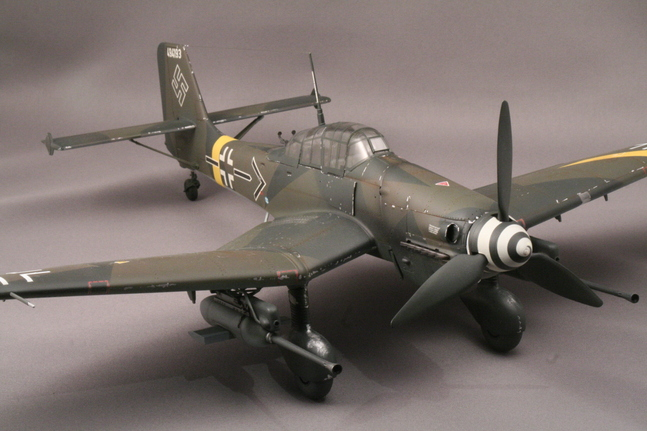 ハセガワ1/32 Ju-87Gカノーネンフォーゲル_b0107838_23412052.jpg