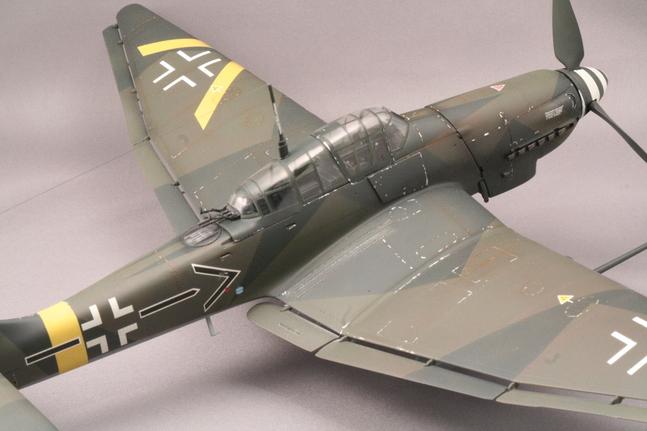ハセガワ1/32 Ju-87Gカノーネンフォーゲル_b0107838_2343219.jpg