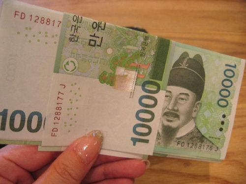 おひとりさまの癒しソウル☆ その7 「ソウルで使うお財布♪」_f0054260_1633277.jpg