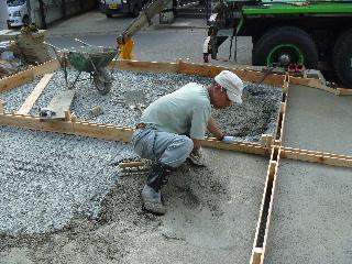 コンクリート舗装工事。_f0105112_7571093.jpg