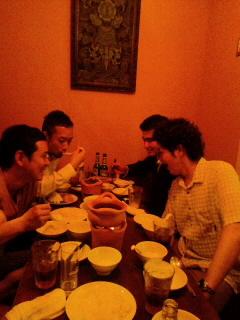 スパイス番長のインド料理研究会の後、_f0190225_22293576.jpg