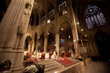 エル・マリアージュ  セント・パトリック大聖堂で結婚式!_c0050387_1438441.jpg