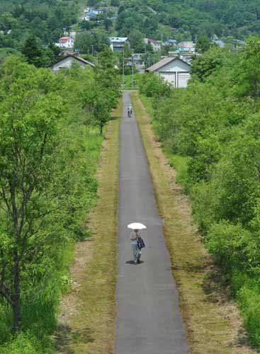 夕張62・鹿ノ谷駅構内_f0173596_109629.jpg