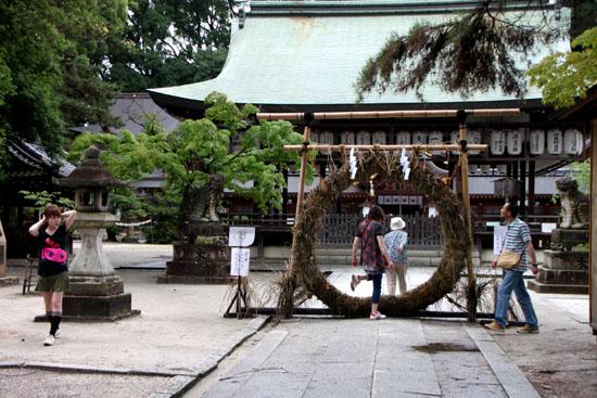 夏越(なごし)の大祓 今宮神社_e0048413_1431760.jpg