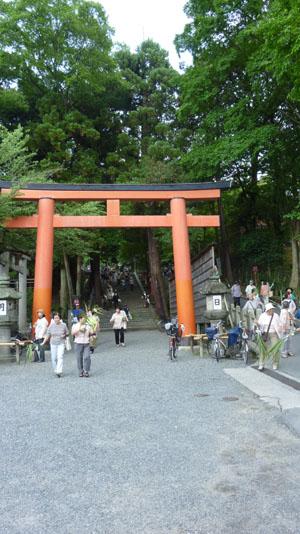 夏越(なごし)の大祓  吉田神社_e0048413_214114100.jpg
