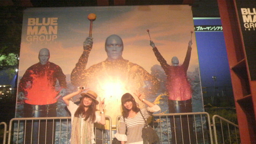 BLUEMAN in Tokyo!!_a0146017_231866.jpg