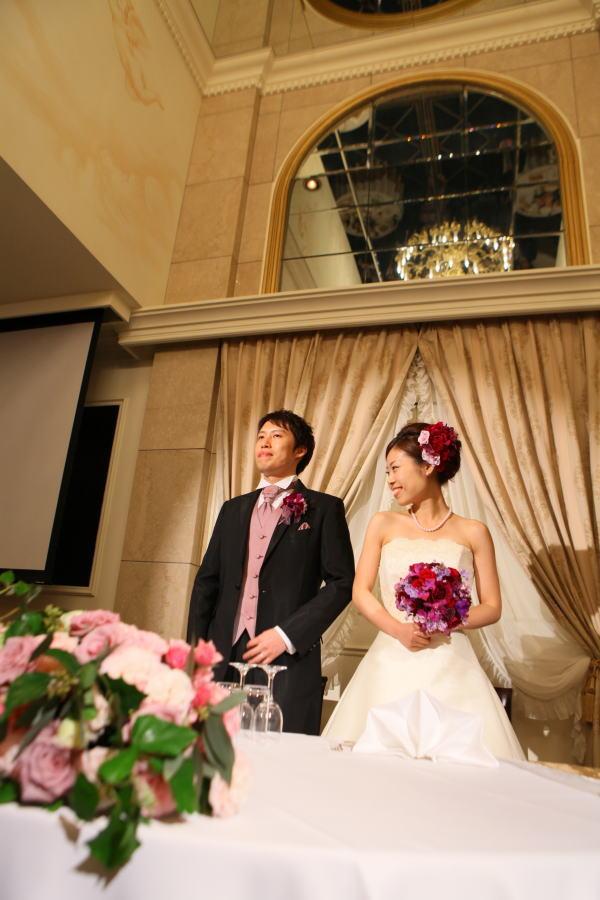 新郎新婦様からのメール ウェスティンホテル東京様へ 白の芍薬、紫のバラ_a0042928_2138345.jpg