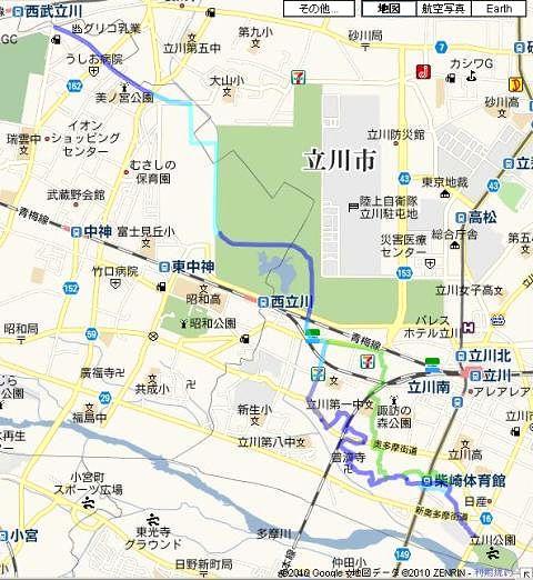 柴崎分水(立川分水)(1)分水地点〜昭和記念公園まで_c0163001_23372572.jpg