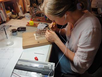 小倉町の家」の軸組模型が着々と進んでいます。_c0195909_1045372.jpg